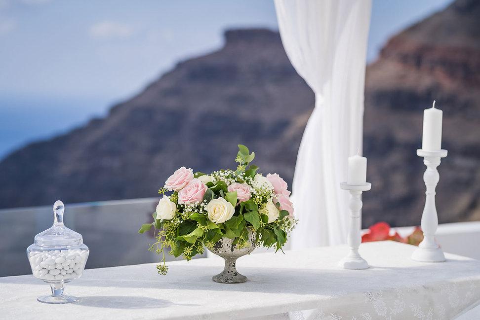 Casamento em Santorini do nosso querido casal Vanessa e Gabriel