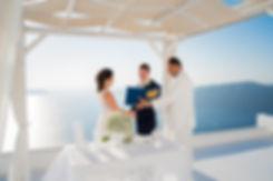 Casamento em Santorini do nosso quecasal Fernanda e Felipe