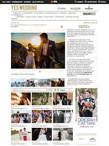 Casamento em Santorini na Mídia - Ana Paula e Luiz na Yes Wedding