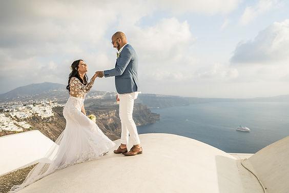 Casar na Grécia Casamento em Santorini.j
