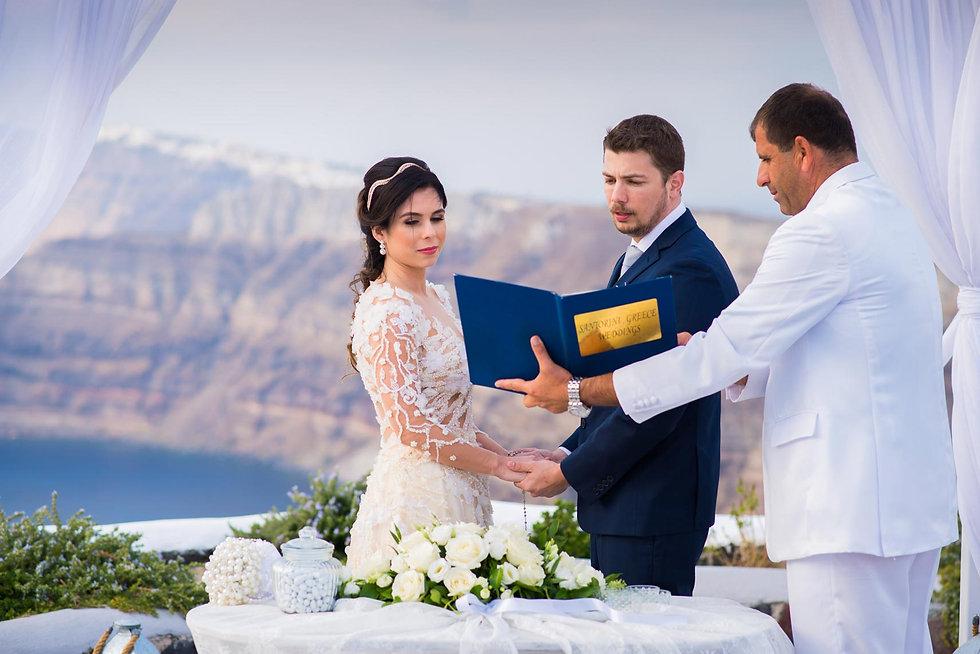 Casamento em Santorini do nosso casal super especial Yasmin e Diego