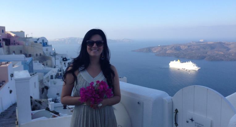 """""""Eu quero em Santorini"""""""