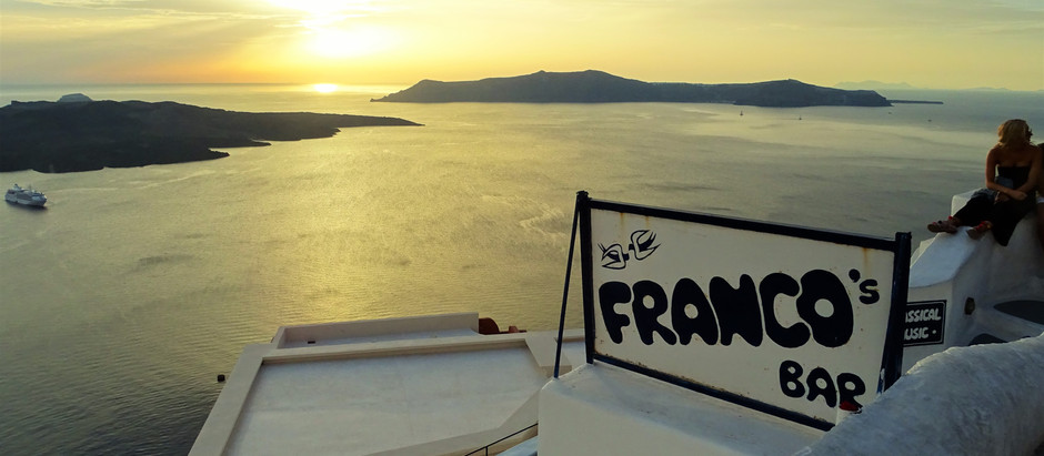 Onde ver o pôr do sol em Santorini: três sugestões que não são em Oia!