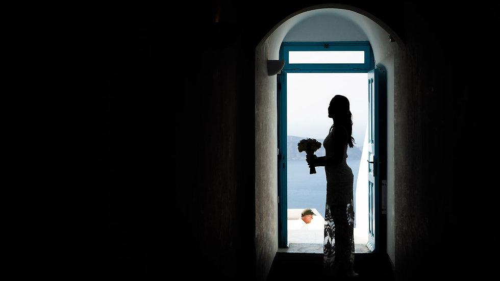 Casamento em Santorini do nosso casal super especial Ana Beatriz e Max