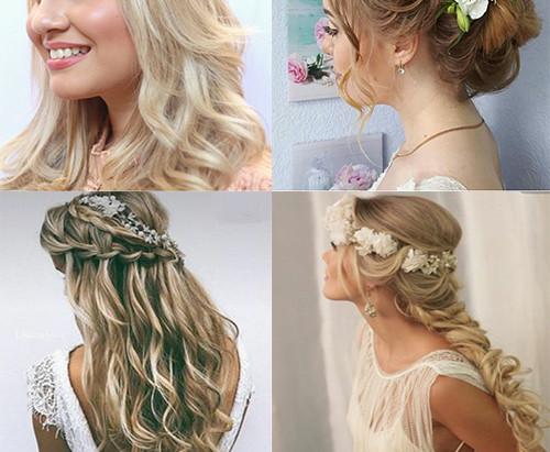#WeddingIdeas: Make e penteados para noivas de Santorini!