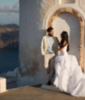 Ensaio fotográfico em Santorini do nosso casal super especial Fernada e Marcelo