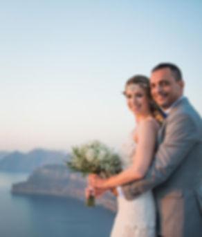Casamento em Santorini do nosso casal super especial Giuliana e Marcos
