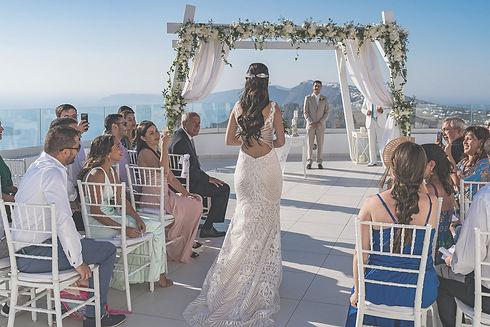 casal Casar na Grécia Casamento em Santorini