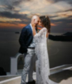 Casament em Santorini do nosso casal supr especial Paula e Gustavo