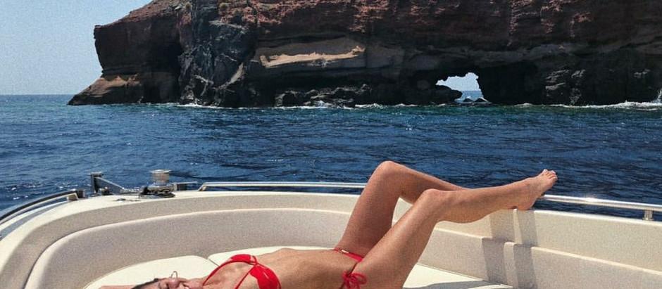 Celebridades nas ilhas gregas!