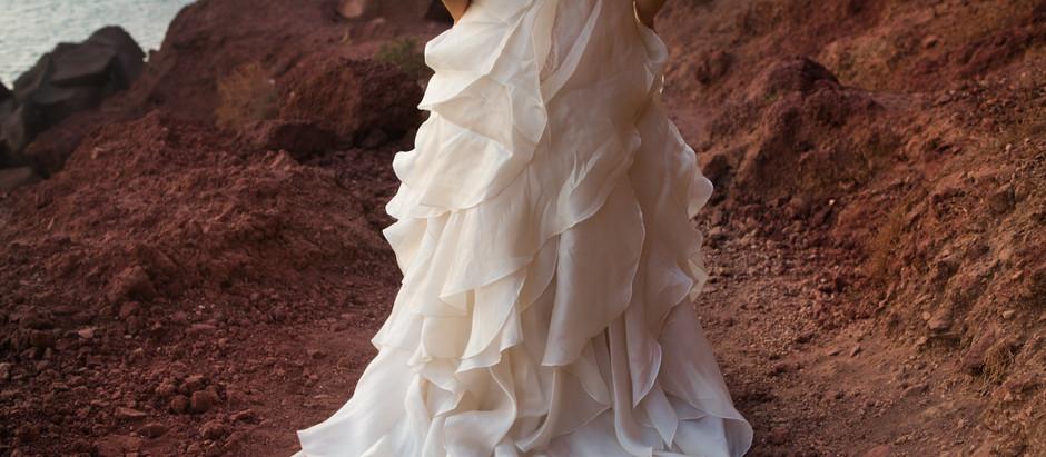 Por que eu escolhi casar em Santorini?
