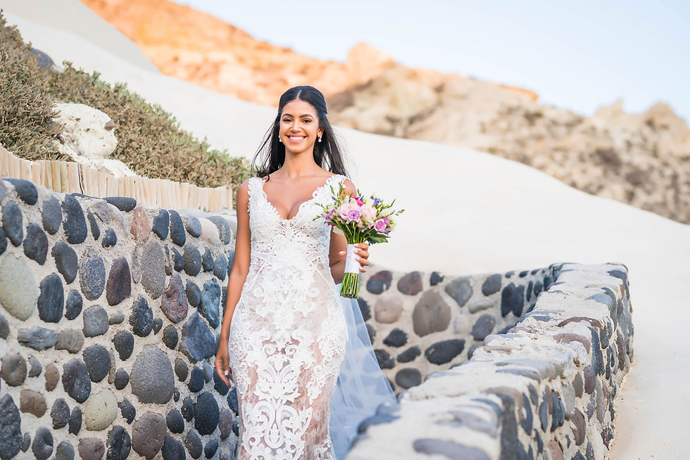 Casamento em Santorini do nosso casal sper especial Nathane e Vinícius