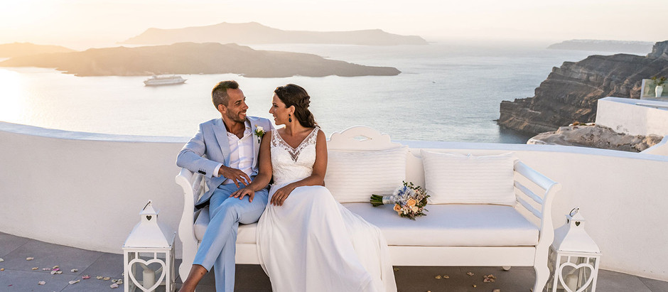 10 palavras/expressões que a noiva portuguesa tem que saber para casar em Santorini