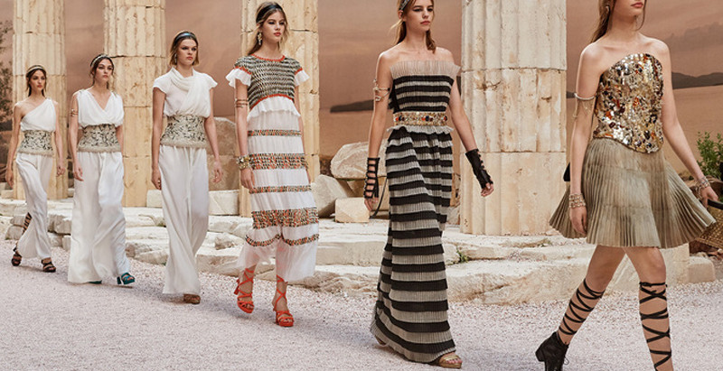 Moda: Grécia Antiga pelo olhar da grife Chanel!