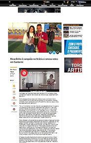 Casamento em Santorini na Mídia - Angel e Ricardo na 90min