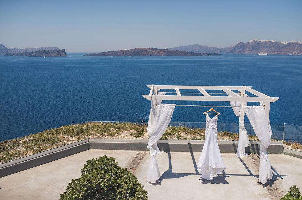 Casamento em Santorini do nosso casal super especial Ellen e Rafael