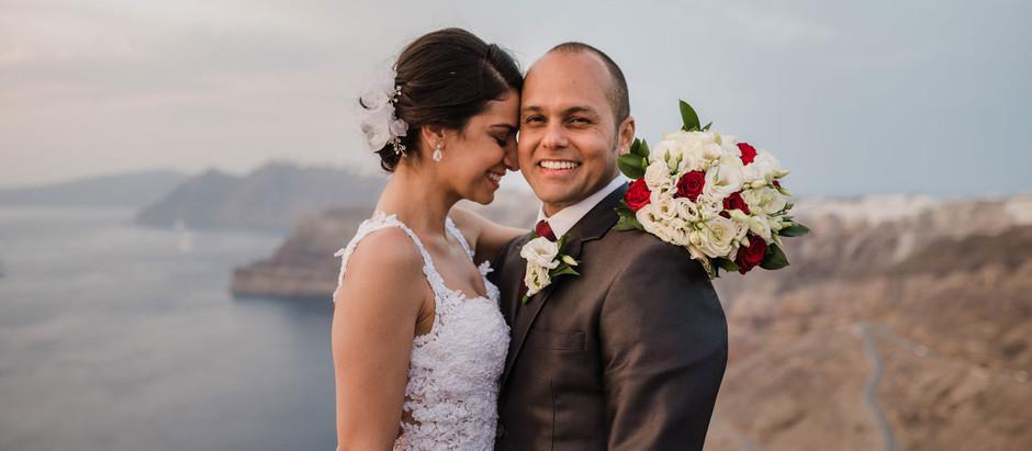 Casamento em Santorini: A noiva conta tudo!