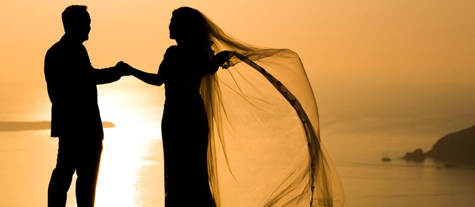 Casamento em Santorini: como você nunca viu!