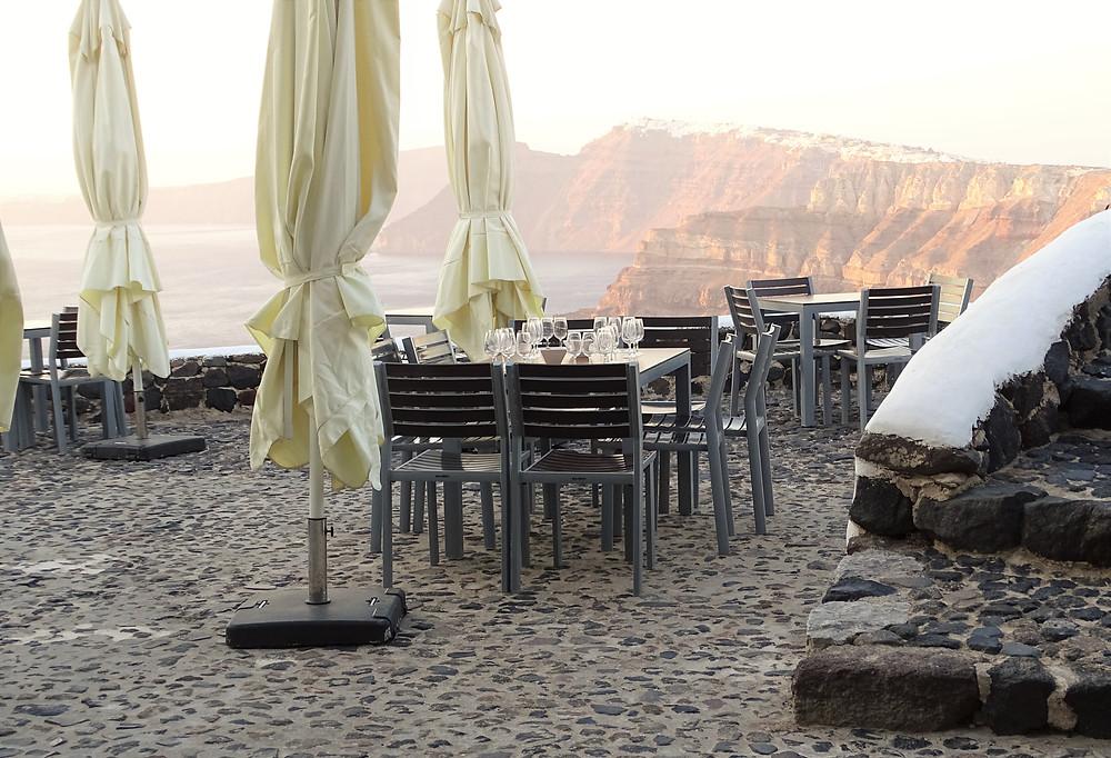 Casamento em Santorini Locais Venetsanos Winery