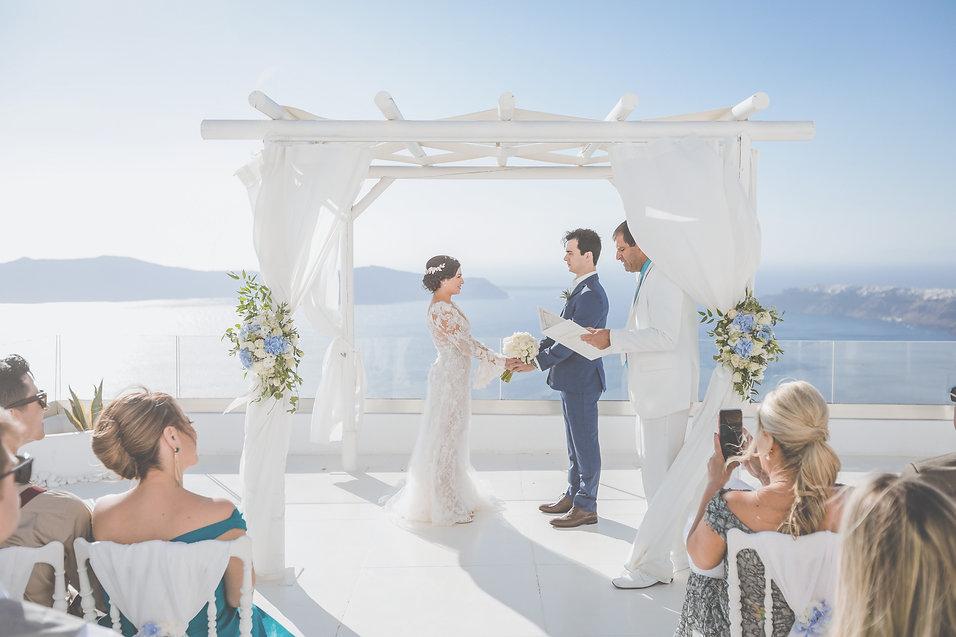 Planner assesora de casamento brasileira na Grecia Casar na Grécia Casamento em Santorini