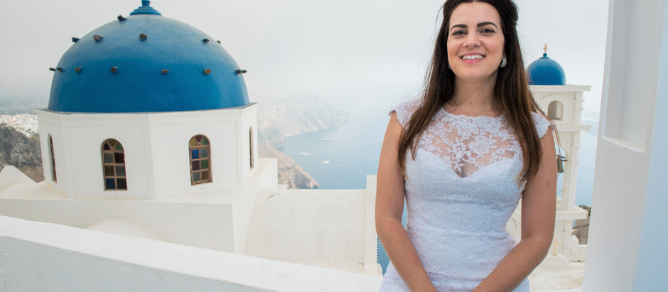 Meu ensaio de noiva 2016: pelos cantos secretos de Santorini!