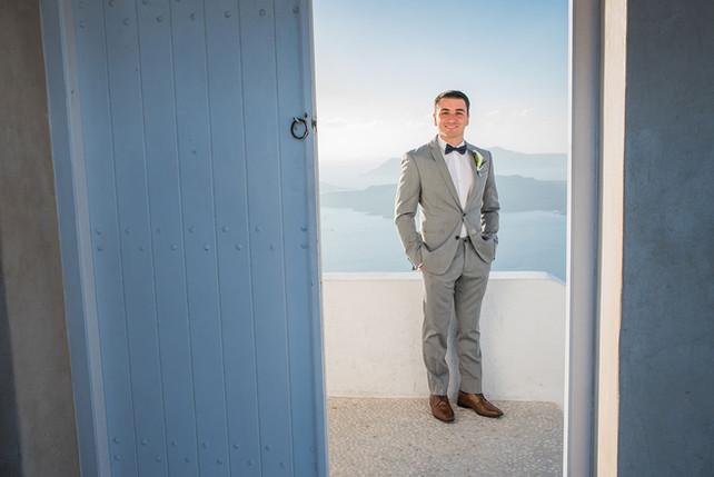 Casamento em Santorini