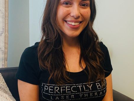 Meet Kristen- part of our Perfectly Bare Laser family!!
