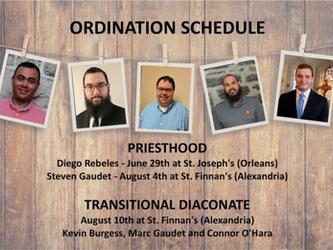 Five Ordinations!