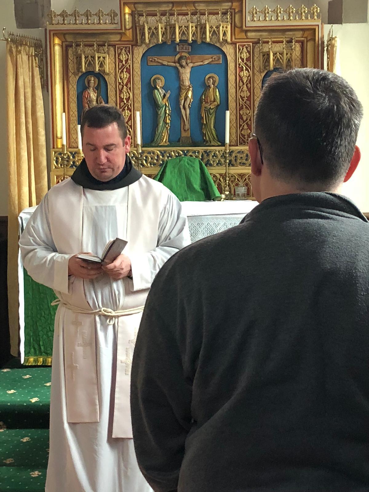 Fr Terrance Postulancy