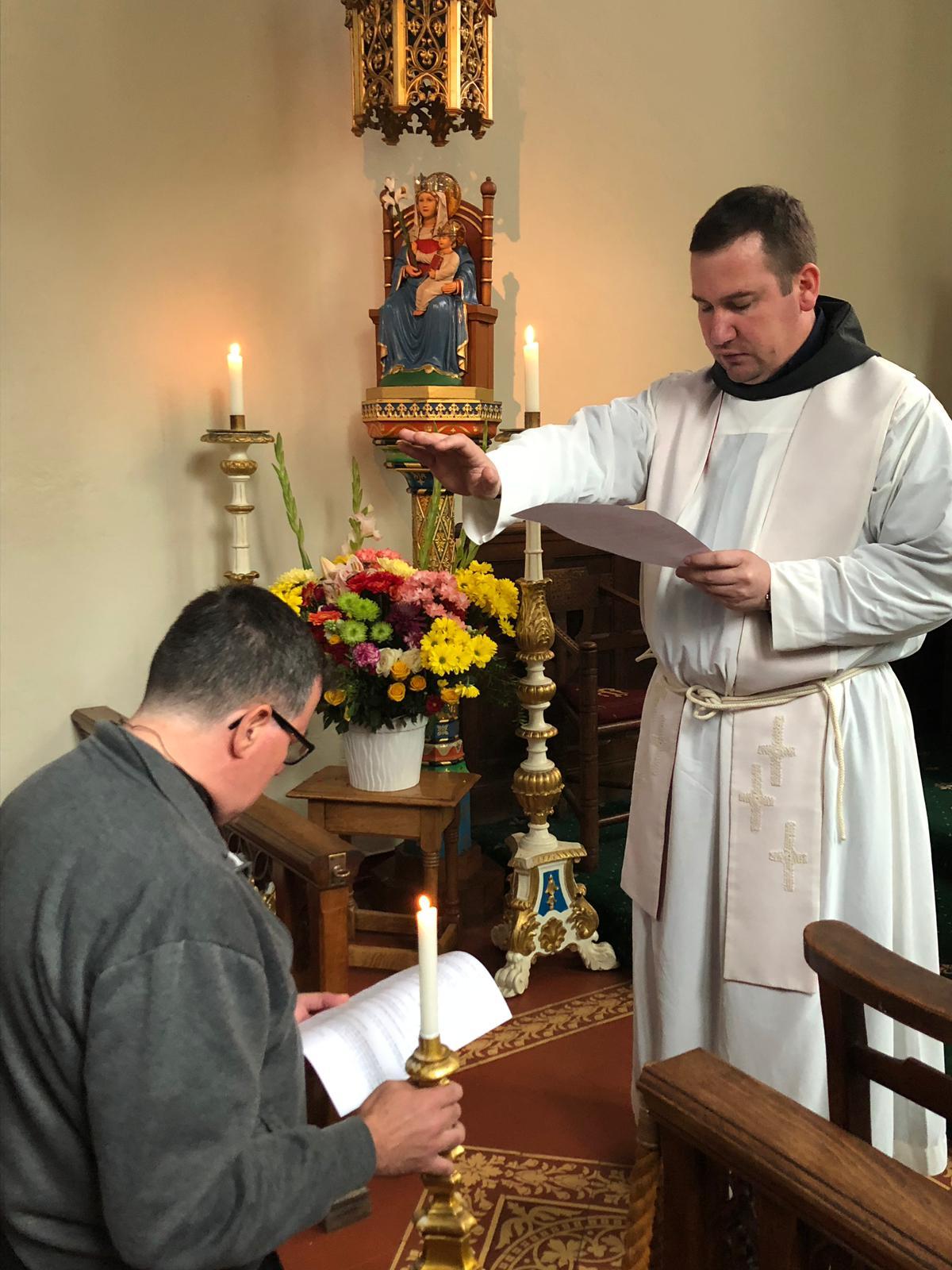 Fr Terrance Postulancy 7