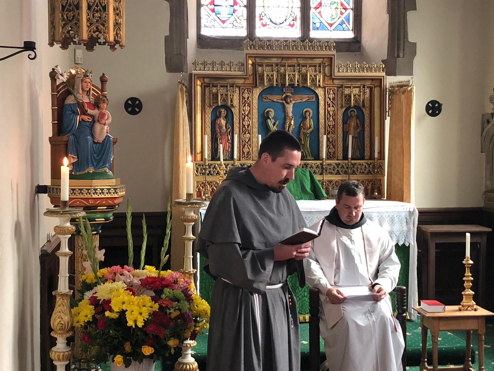 Fr Terrance Postulancy 2