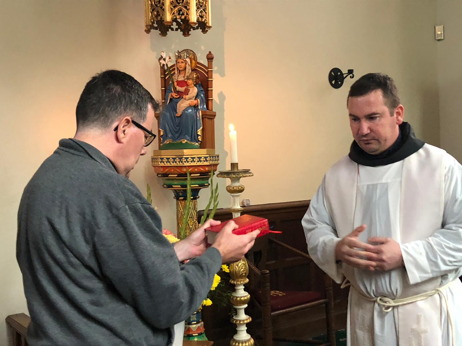 Fr Terrance Postulancy 4
