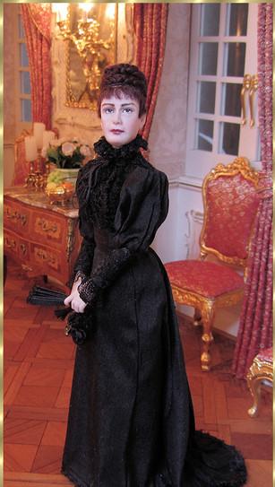 Empress Elisabeth at later age