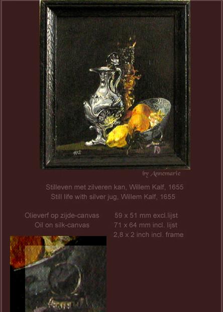 Willem Kalf stillife