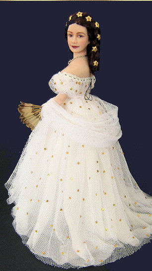 Empress Elisabeth in star gown