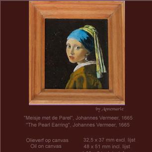 Meisje met de Parel, Vermeer