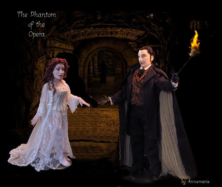 Erik the Phantom and Christine
