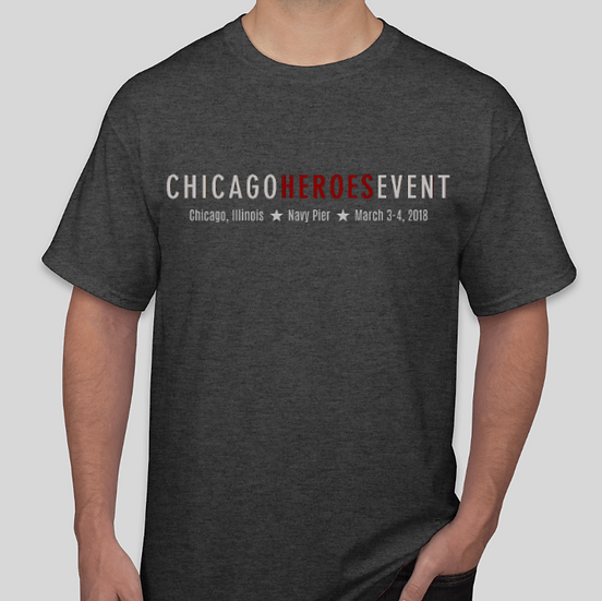 EXCLUSIVE CHICAGO HEROES EVENT Unisex T-Shirt
