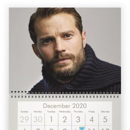 2020 Refund Calendar JAMIE DORNAN 2020 *PRE ORDER*