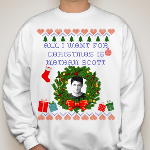 "ALL I WANT FOR CHRISTMAS ""Ugly"" Sweater"