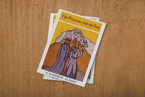 The Princess & The Boy Child's Book Replica