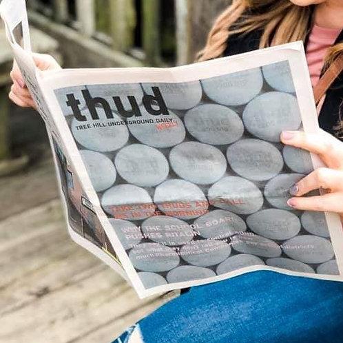 1st Edition THUD Magazine