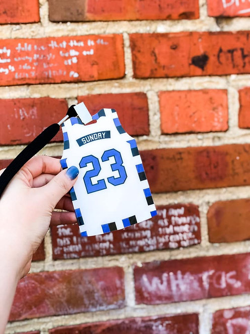 SUNDAY #23 JERSEY Credential