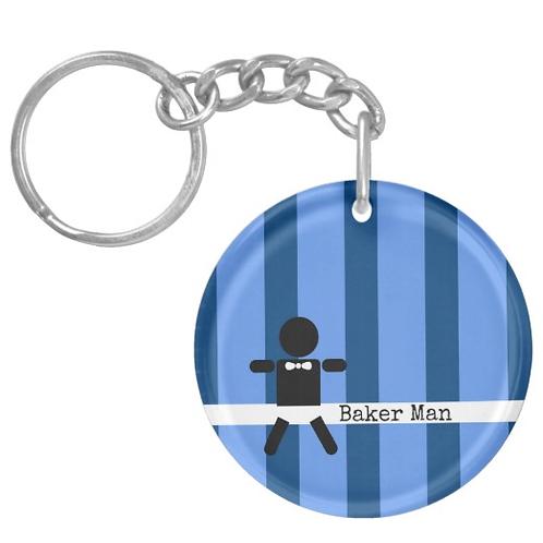 BAKER MAN Keychain