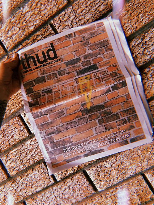 2nd Edition THUD Magazine