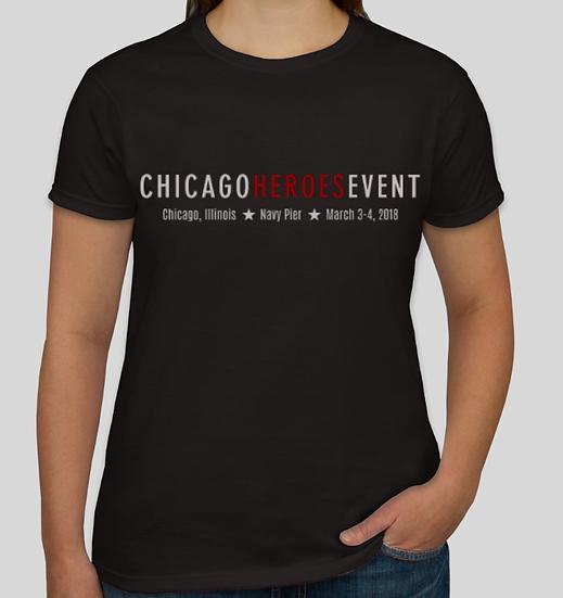 EXCLUSIVE CHICAGO HEROES EVENT Ladies Tee