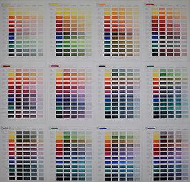 Color Confidence - Color Chart Pages1000