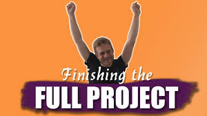 Why is it so hard to finish a project?