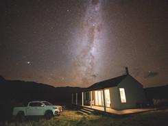 Night Sky at The New Hut - Lake Heron