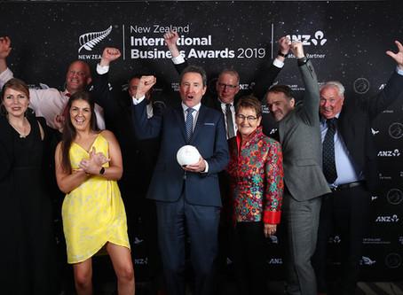 NZM wins Supreme Award at 2019 New Zealand International Business Awards